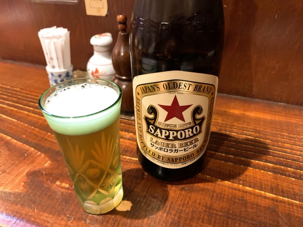 赤星と呼ばれるサッポロラガービール