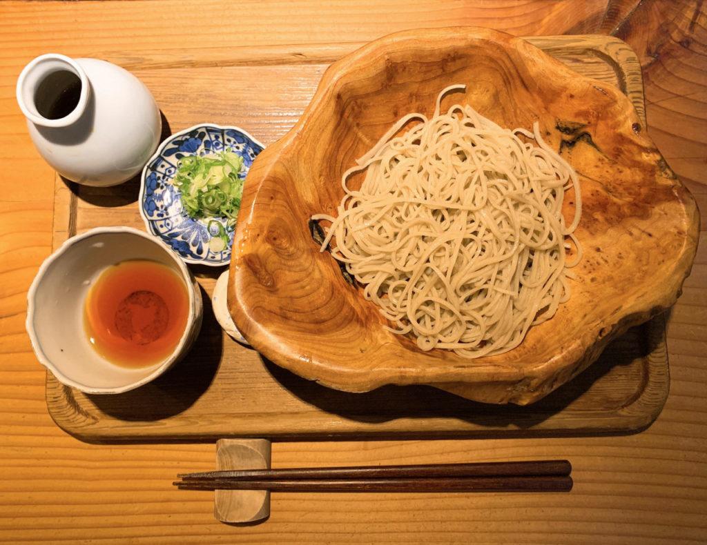 千寿竹やぶの十割蕎麦