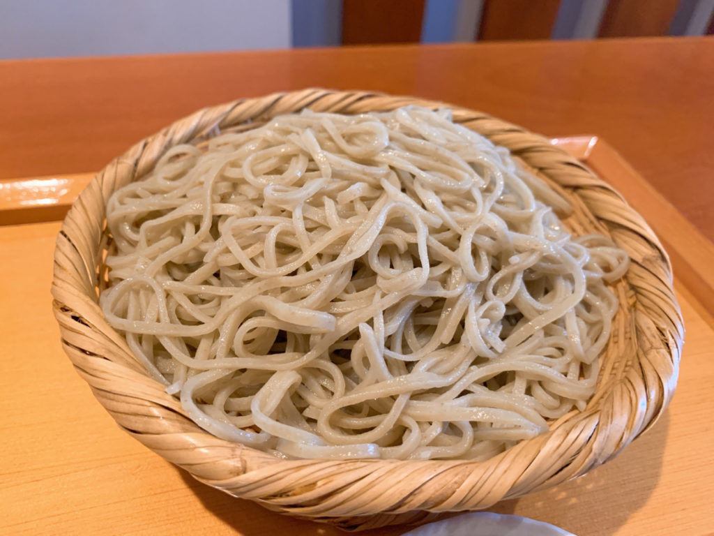 七つ海堂の蕎麦