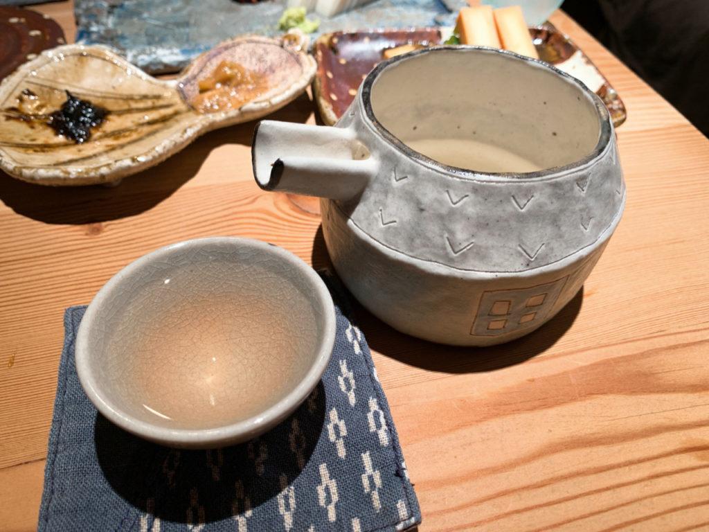 新潟の日本酒の〆張鶴