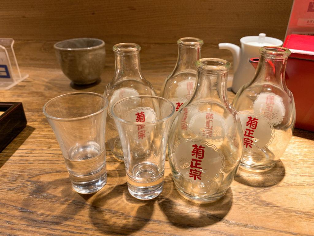 新宿の大庵の菊正宗