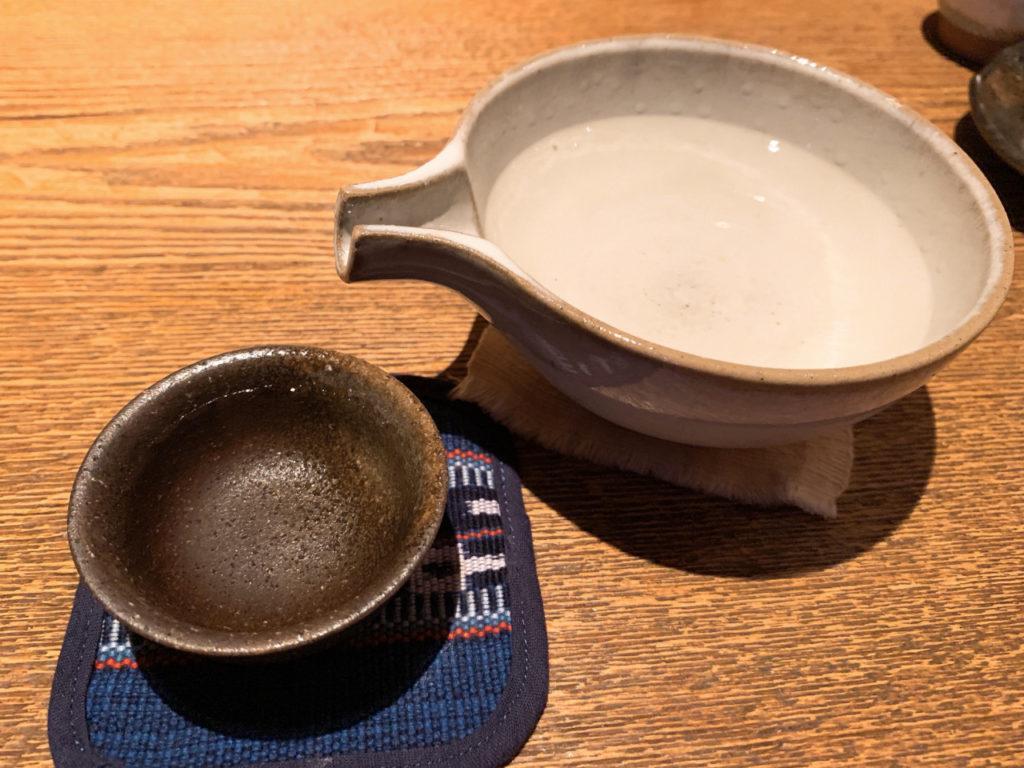 神奈川の日本酒である熊澤酒造の天青