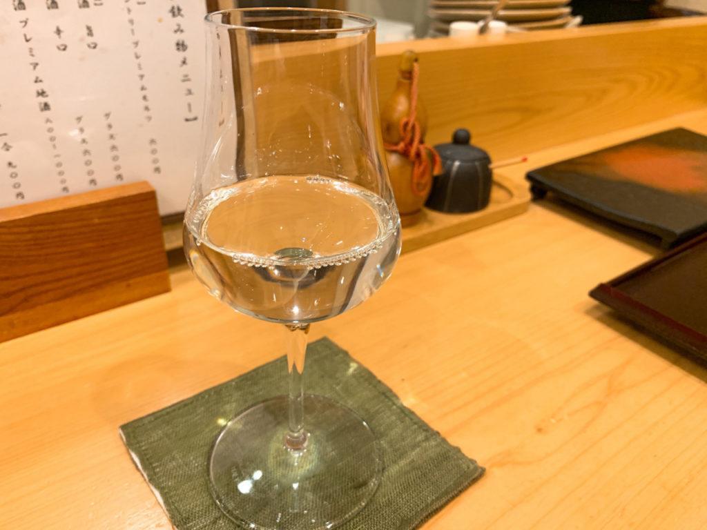 日本酒 ワイングラス