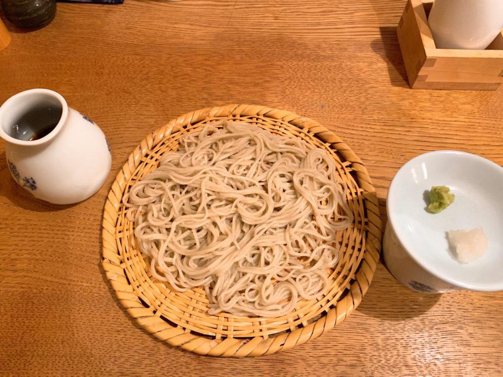 菊谷の蕎麦