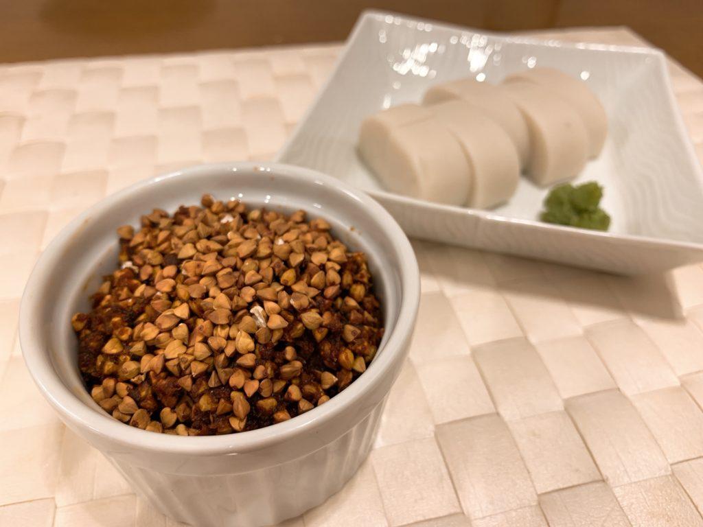 蕎麦味噌のレシピ