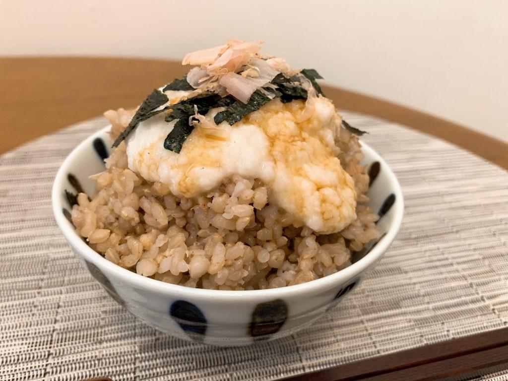玄米と蕎麦の実
