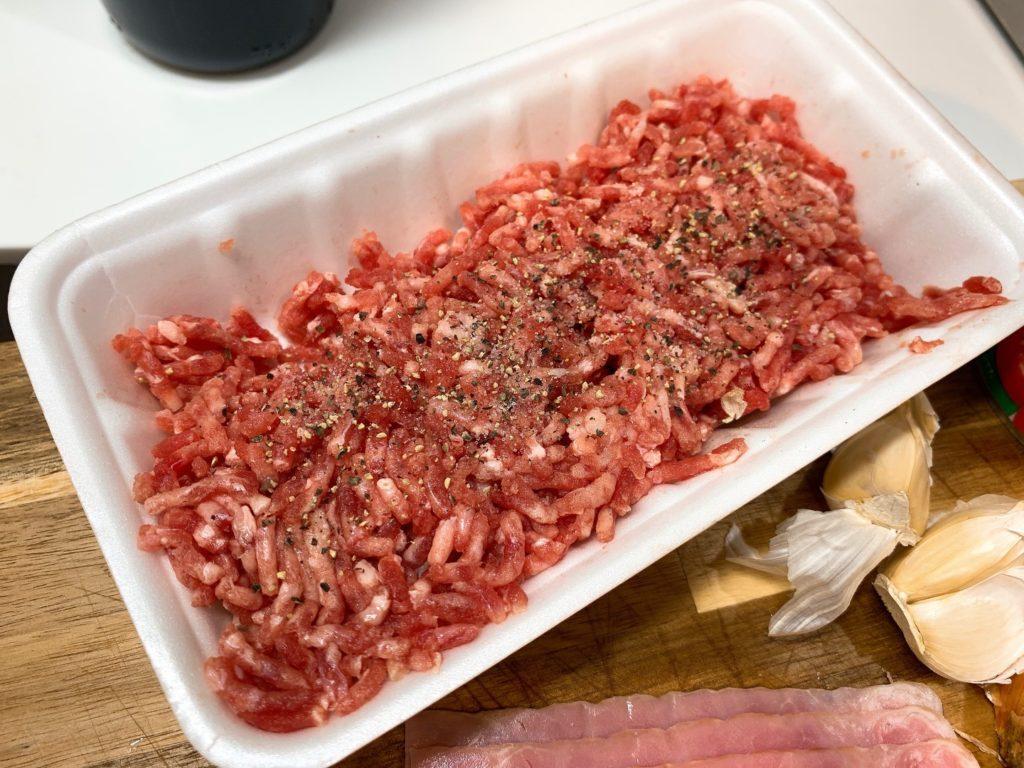 ひき肉の下味