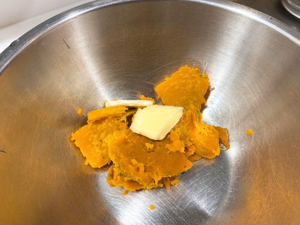 リュウジ かぼちゃのカルボナーラ